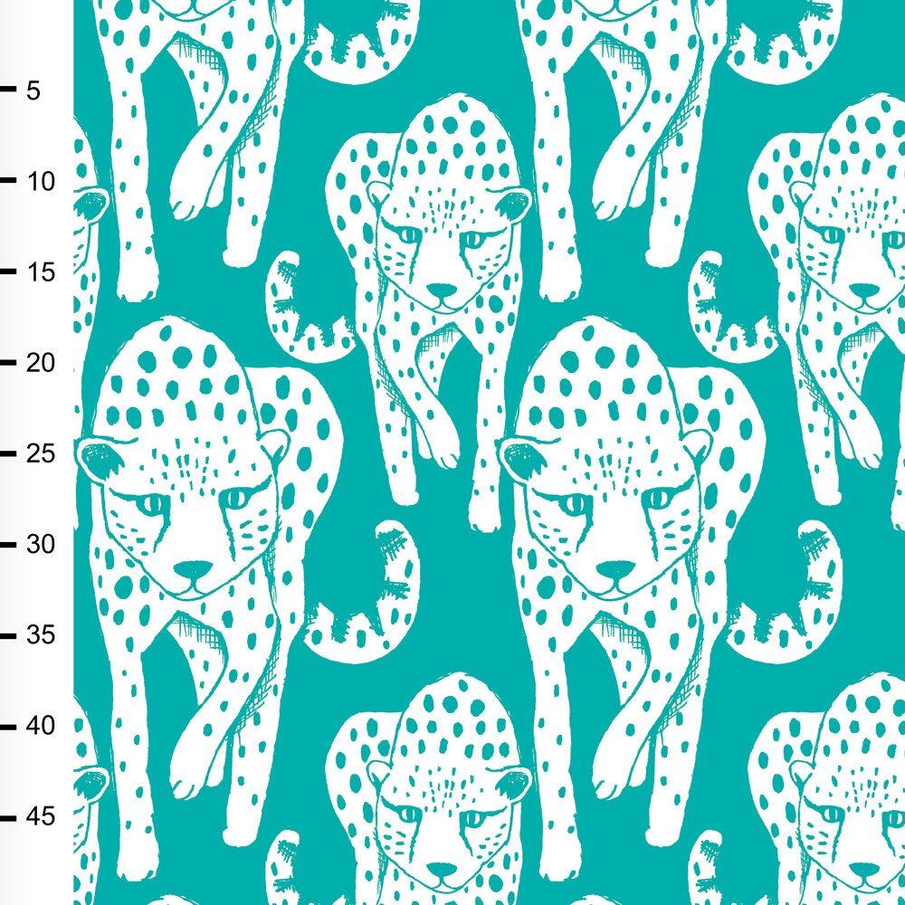 Gepardi trikoo, turkoosi