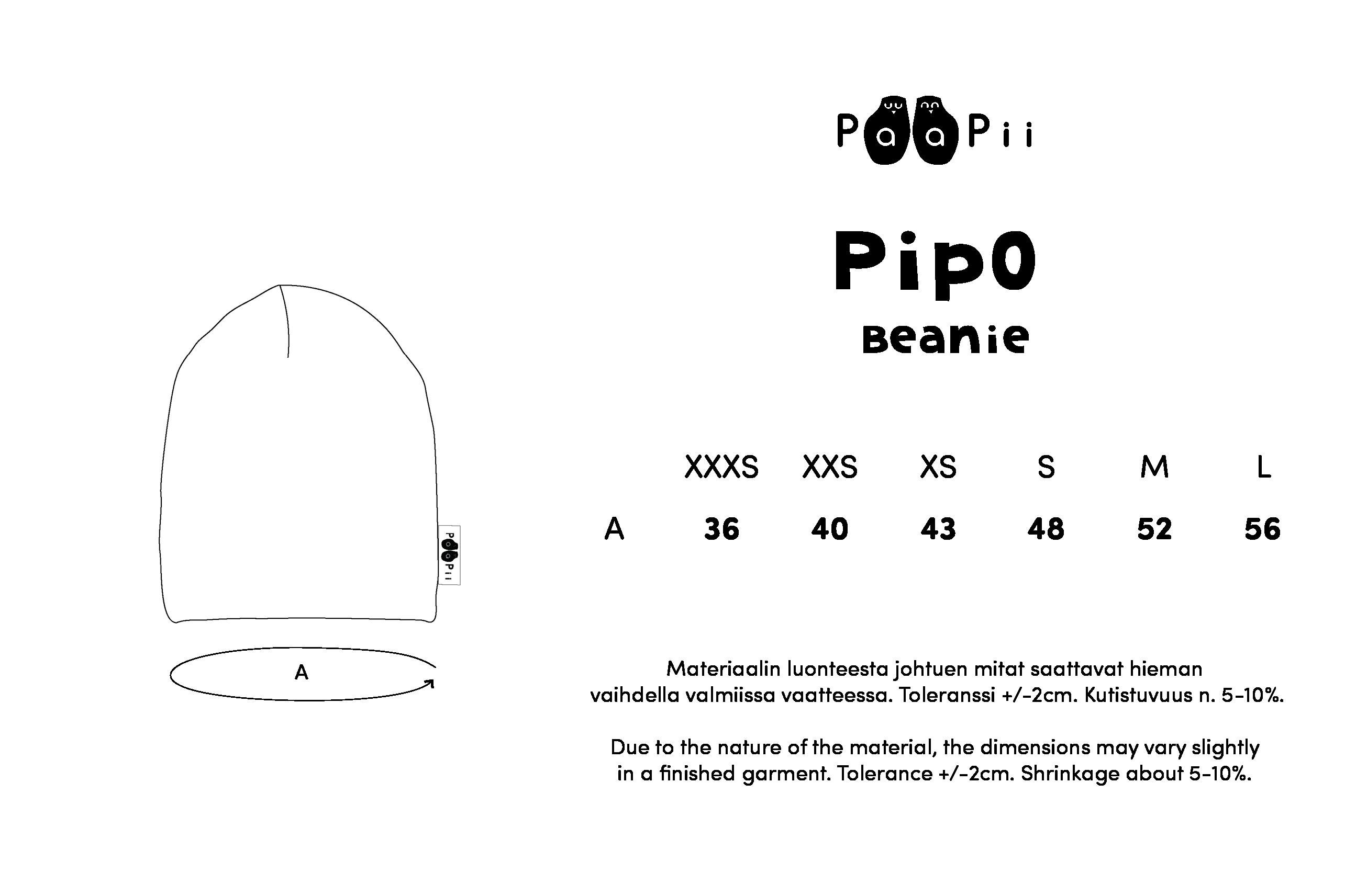 PIPO,  Puolukkapuu