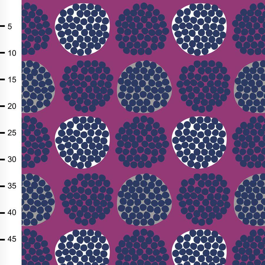 Rubus trikoo, violetti - mustikka - harmaa