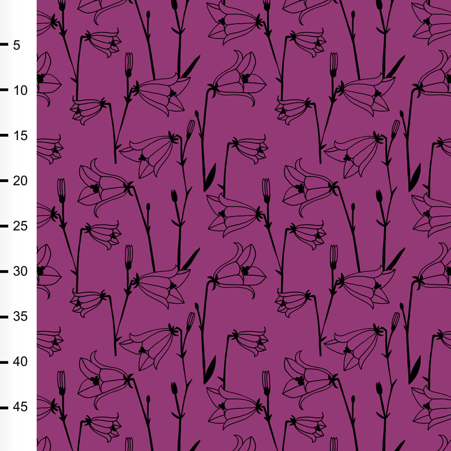 Kissankello joustocollege, violetti