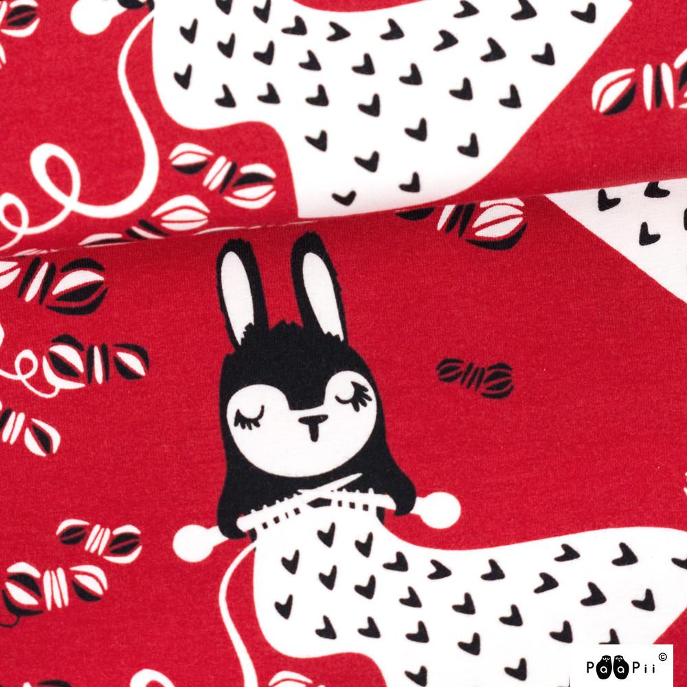 Linnea neuloo trikoo, punainen