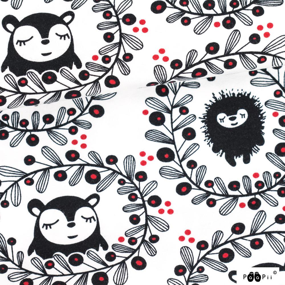 Seppele trikoo, valkoinen - punainen
