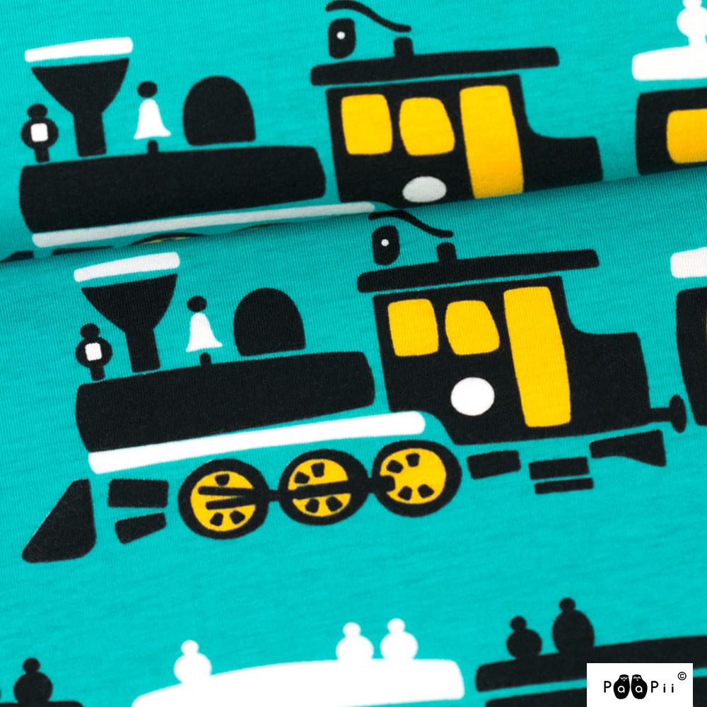 Juna joustocollege, turkoosi