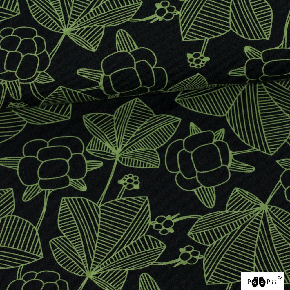 Cloudberry trikoo, musta - metsä