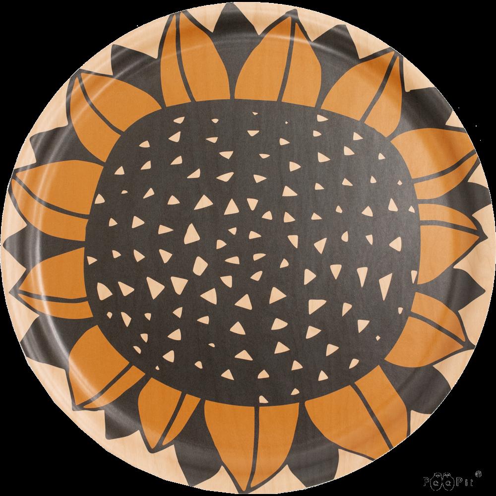 TARJOTIN 35cm,  Auringonkukka