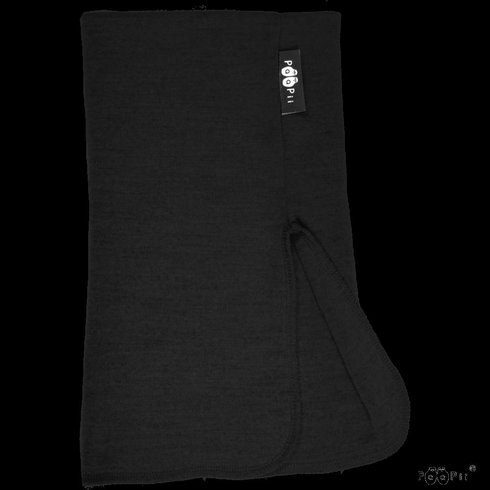 KAULURI - merinovilla, musta