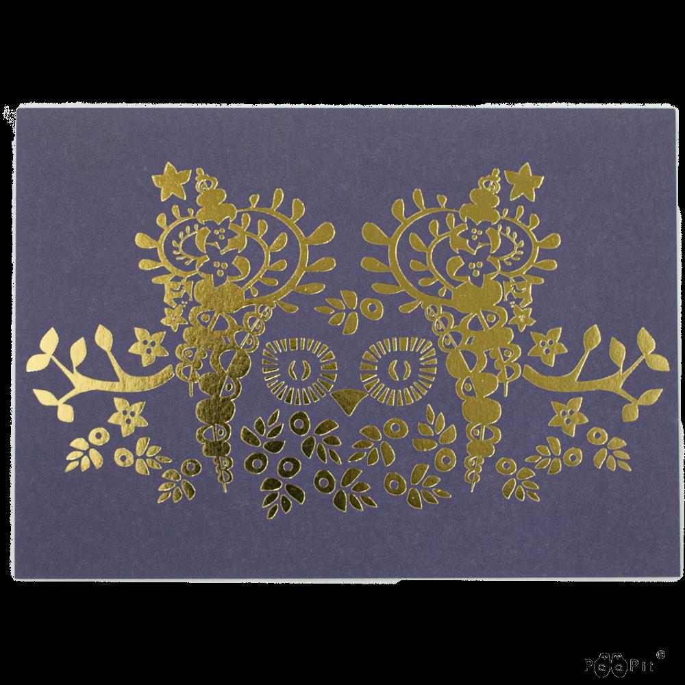 Postikortti,  Mielikki pöllö