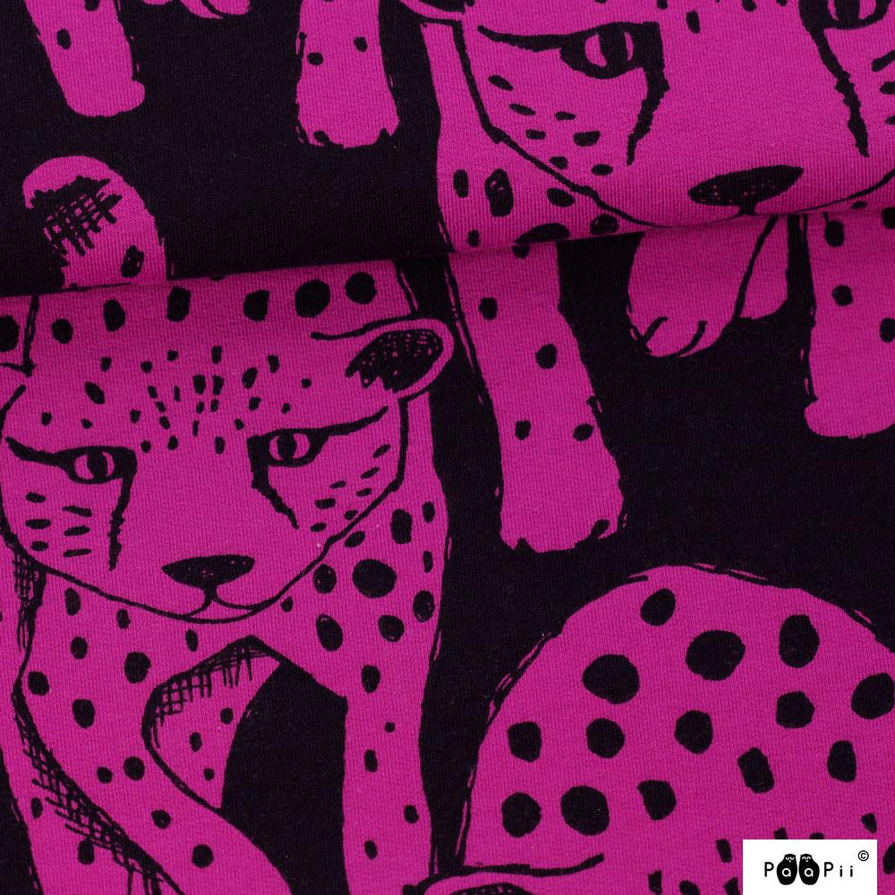Gepardi joustocollege, violetti - musta