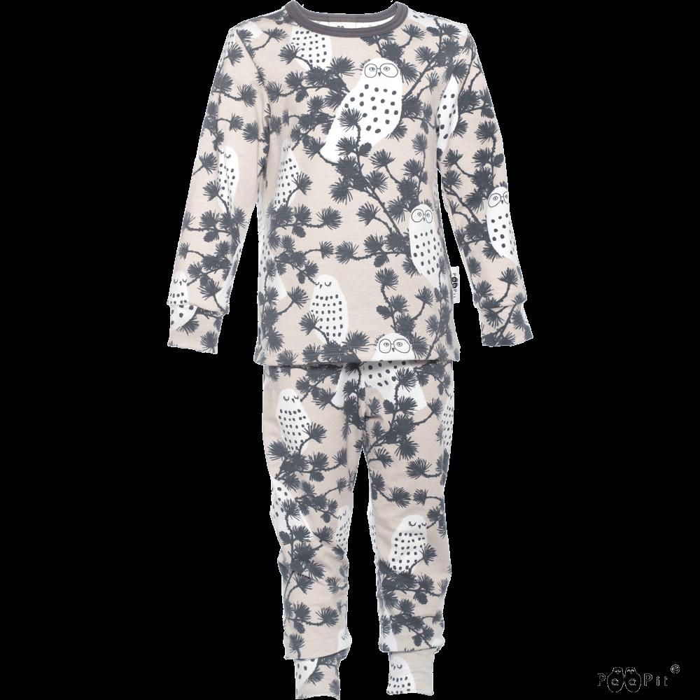 RUSKO pyjama,  Tunturipöllö