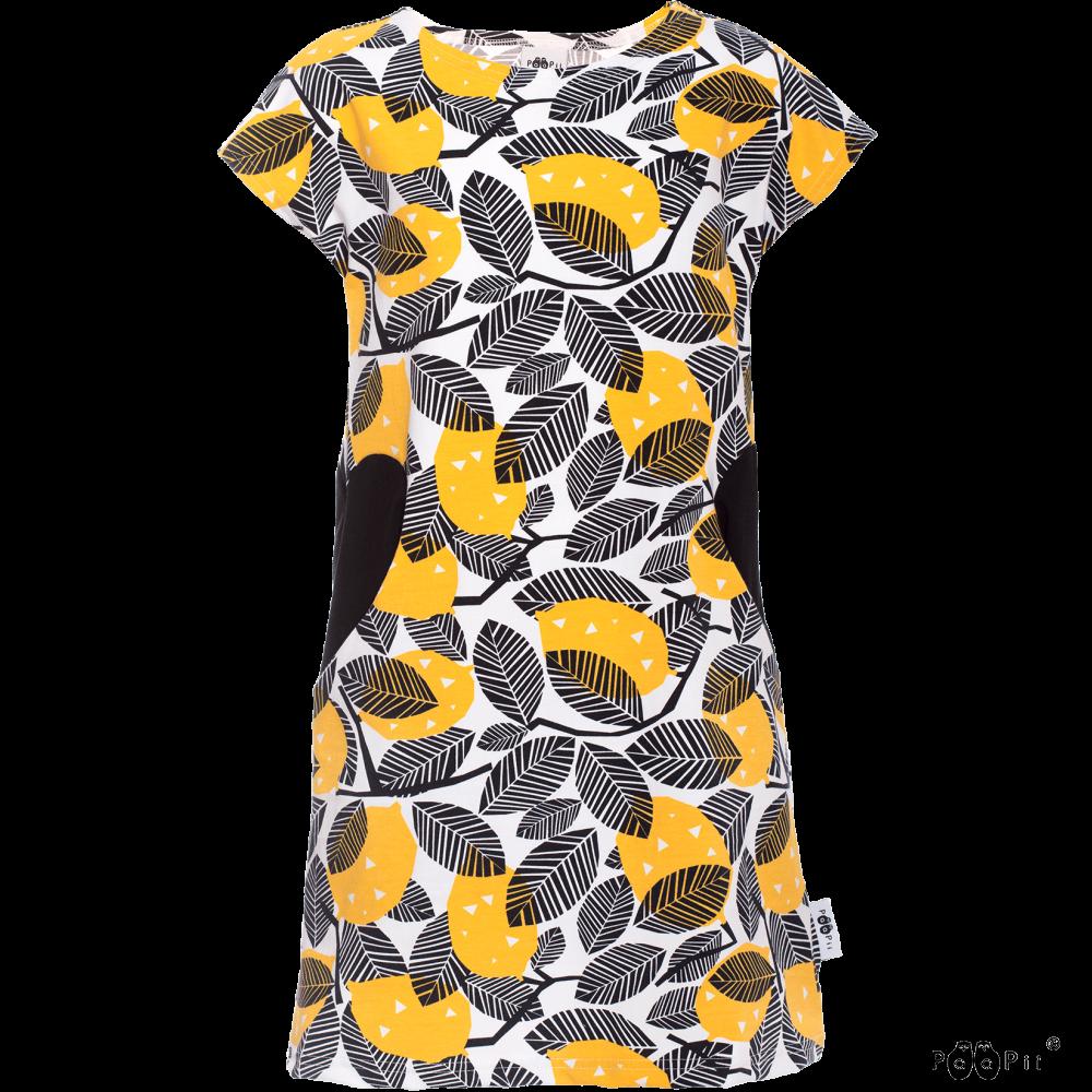 SYDÄN mekko,  Sitruuna