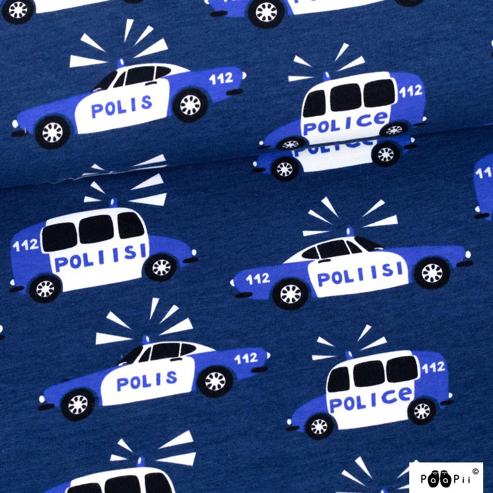 Poliisi joustocollege, mustikka - sininen