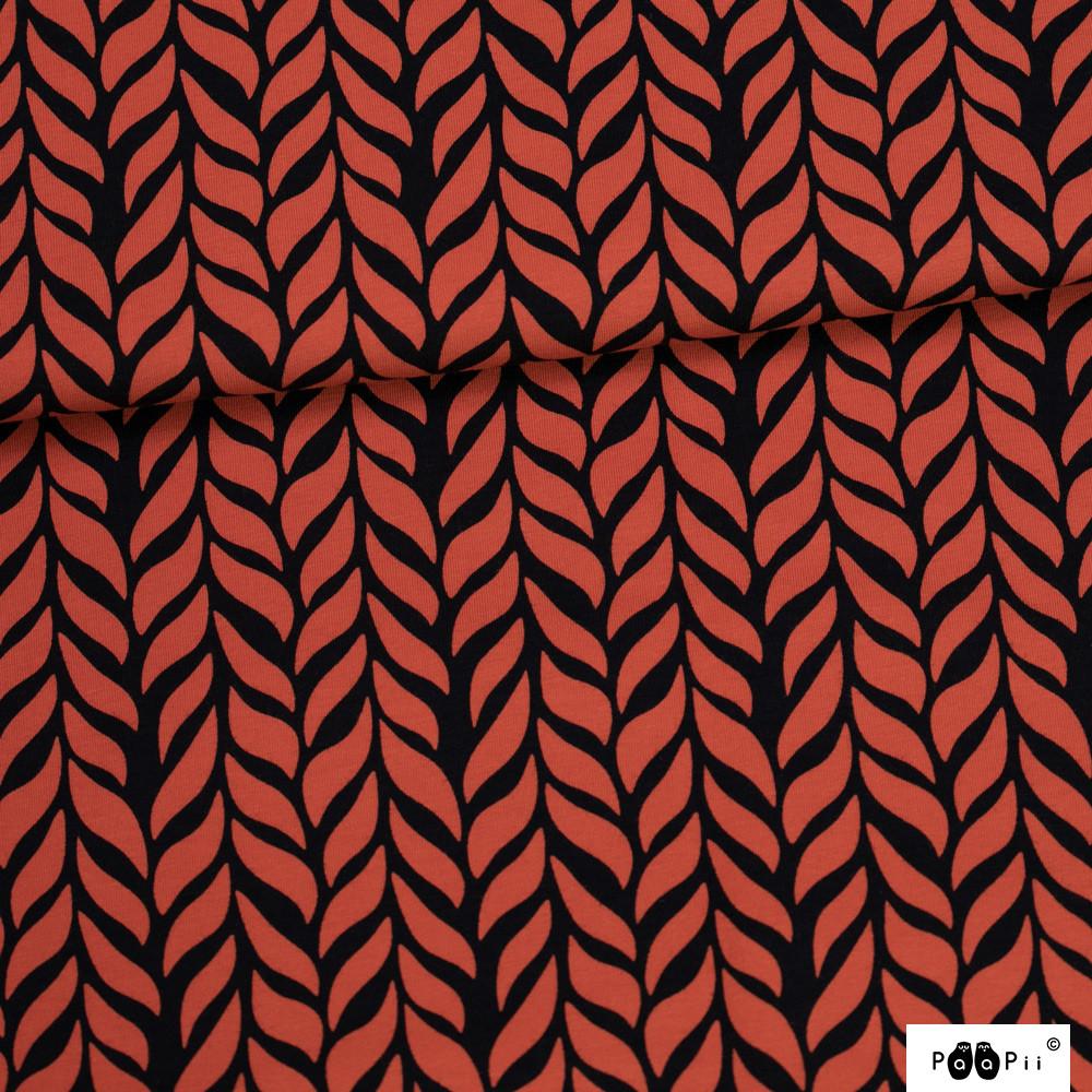Palmikko trikoo, ruoste