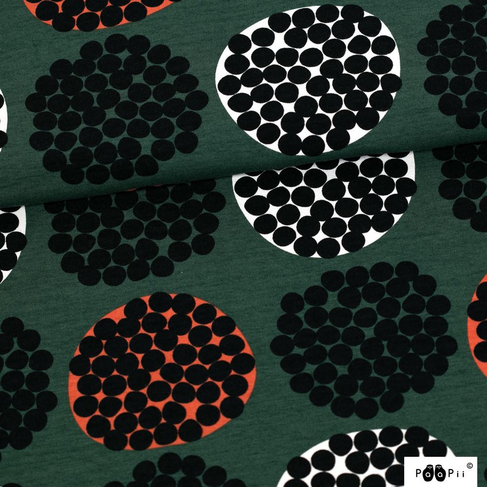 Rubus trikoo, tummanvihreä - ruoste
