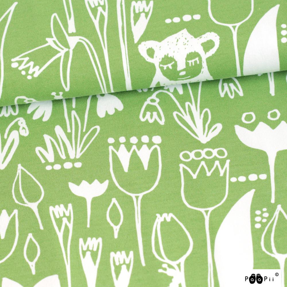 Hipun puutarha trikoo, metsä