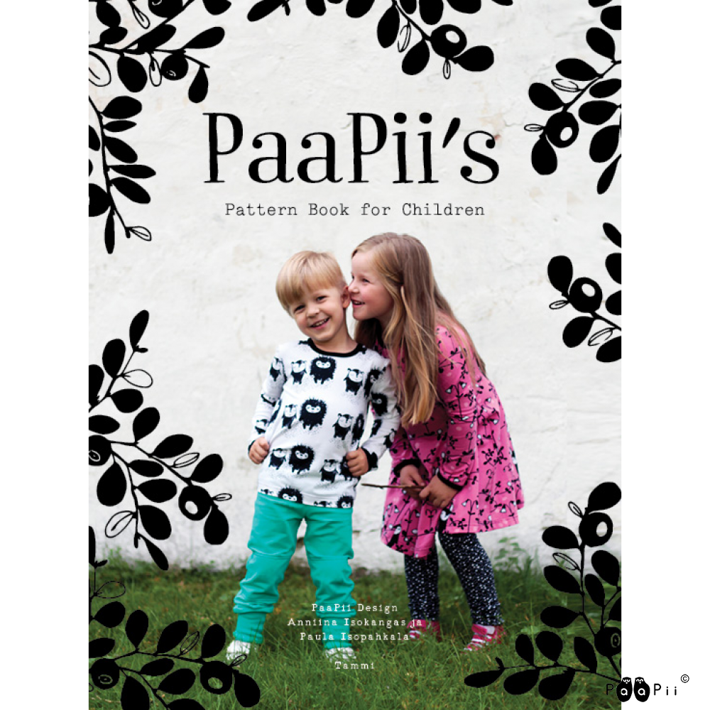 PaaPii's Pattern book for Children (in english)
