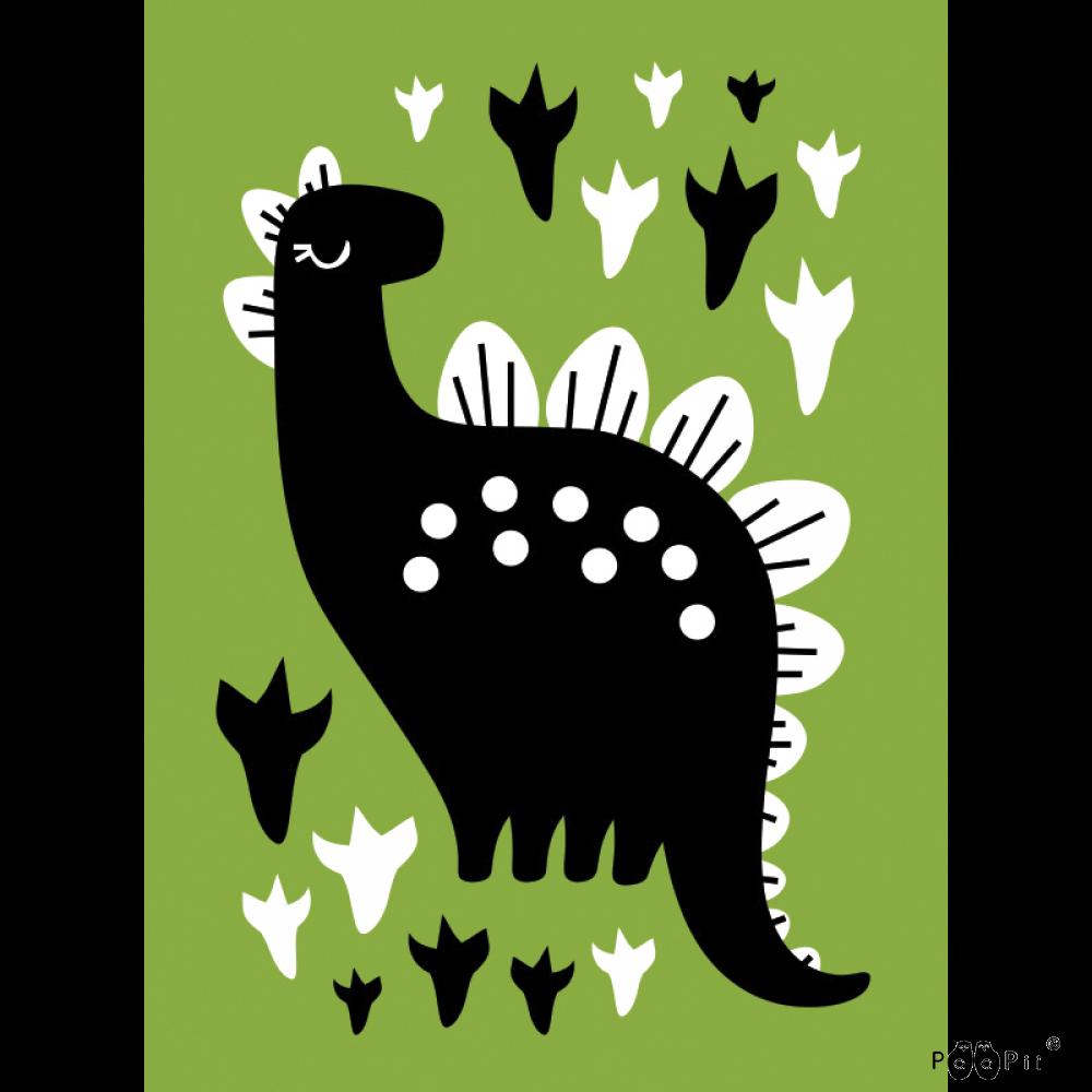 Postikortti,  Dino