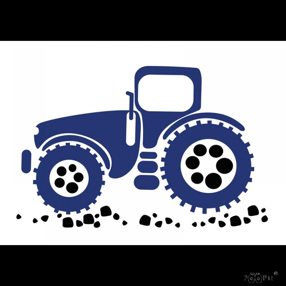 Postikortti,  Traktori