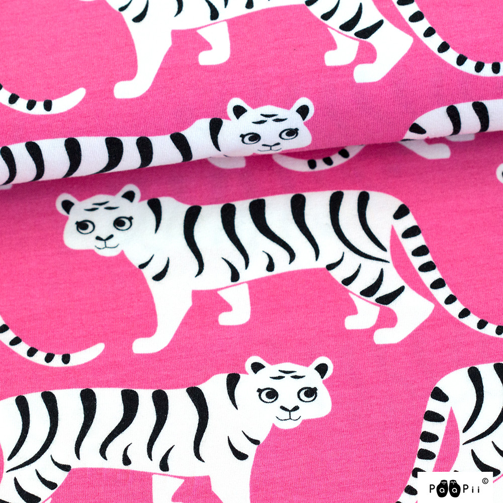 Tiikeriparaati trikoo, pinkki