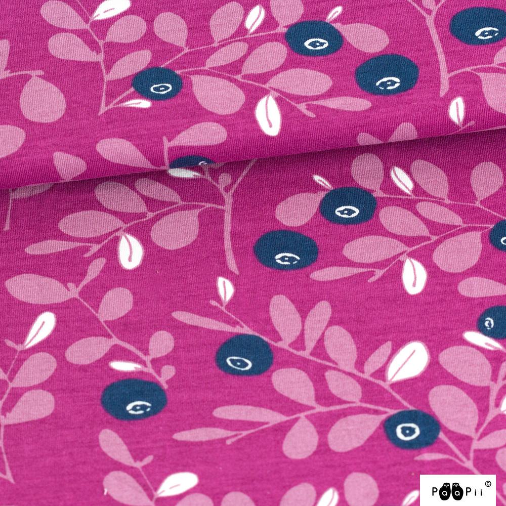 Varpu trikoo, violetti - mustikka