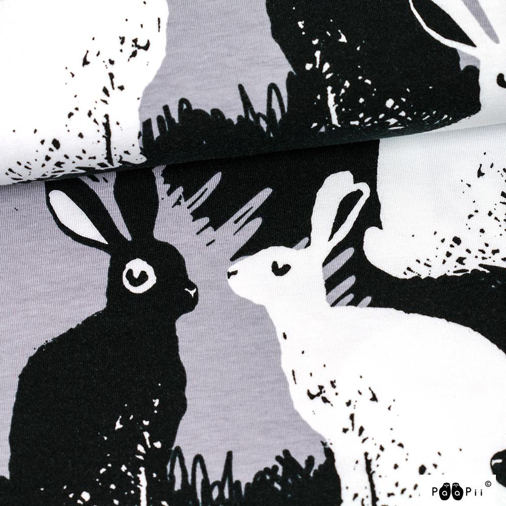 Jänikset trikoo, harmaa