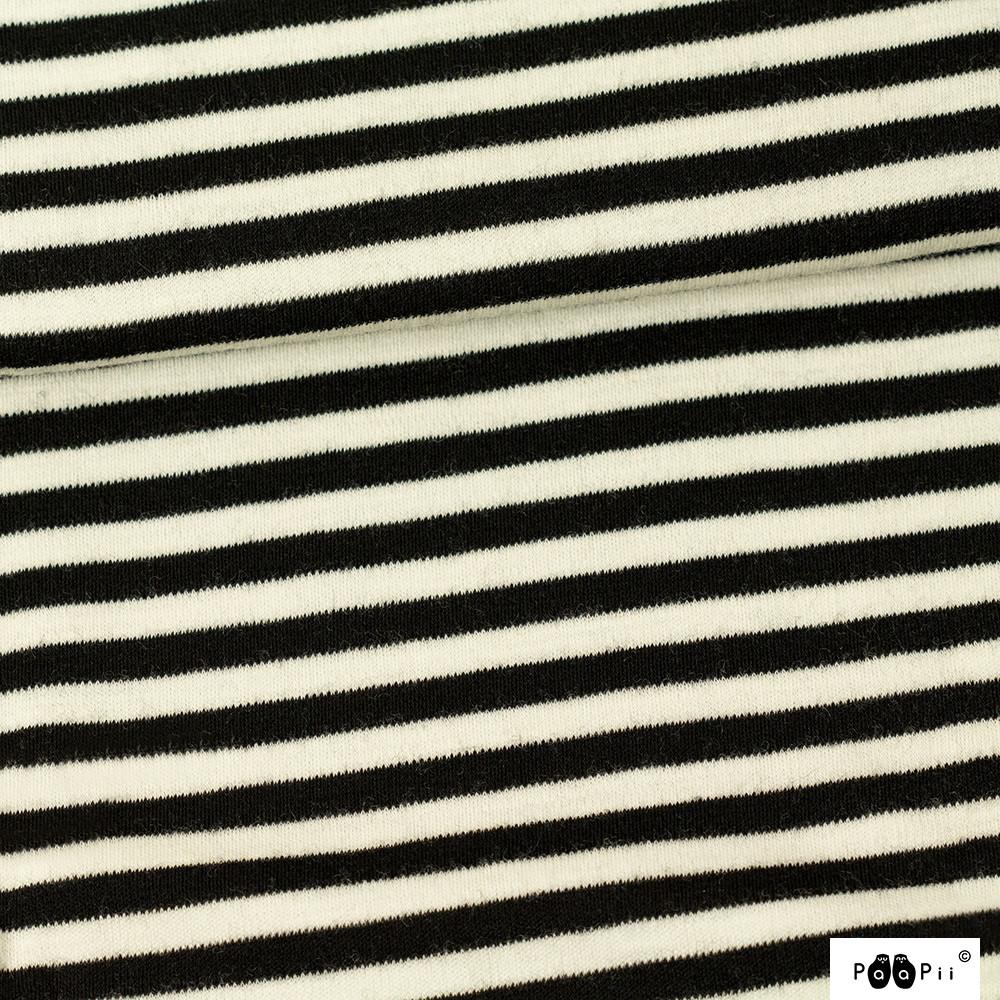 Merinovilla, musta - luonnonvalkoinen