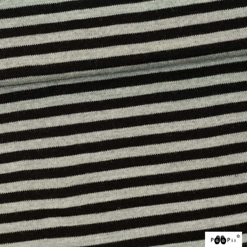 Merinovilla, musta - harmaa
