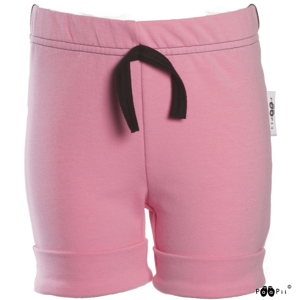 KAARI shortsit, vaaleanpunainen - musta