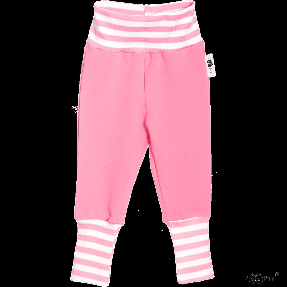 BABY SISU joustocollegehousut, vaaleanpunainen.