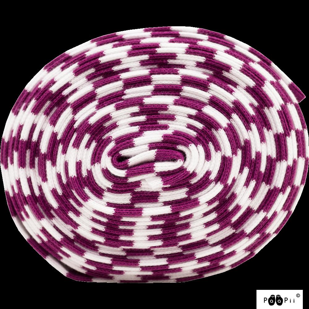 Resori, violetti - valkoinen