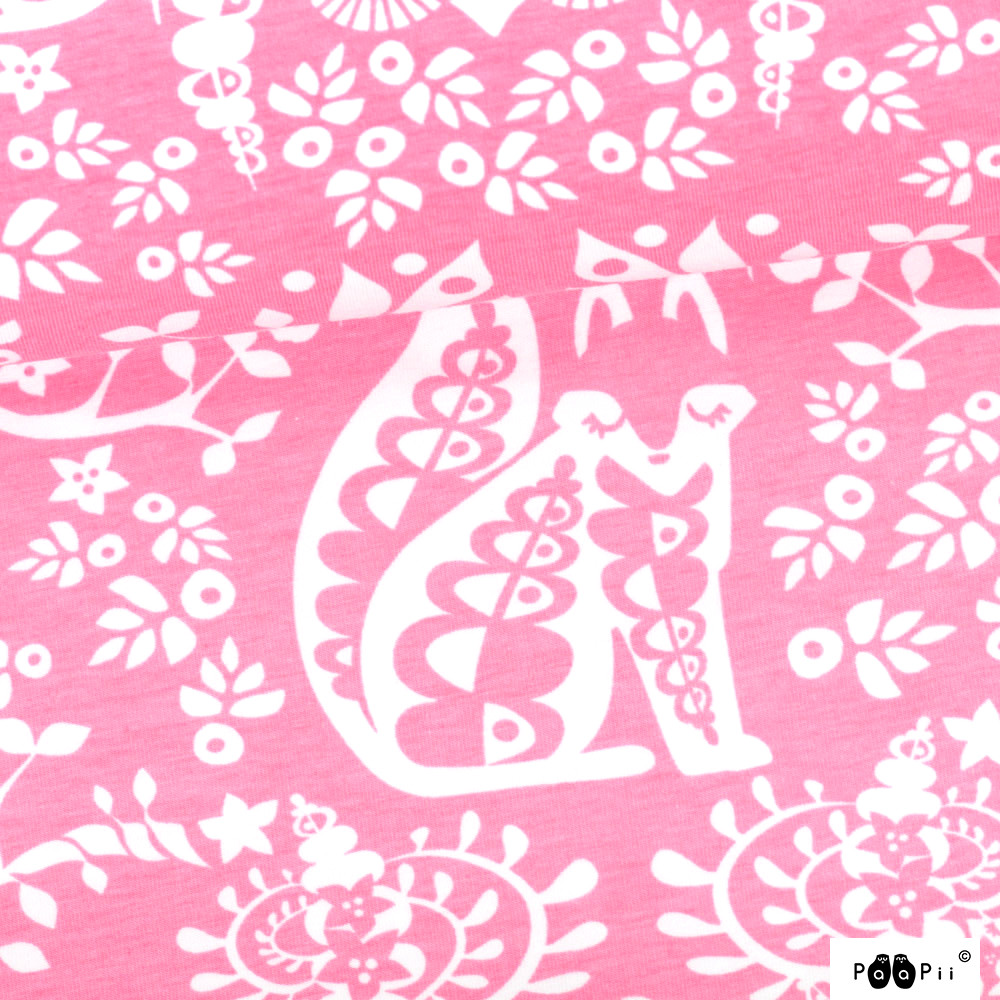 Mielikki organic jersey, light pink