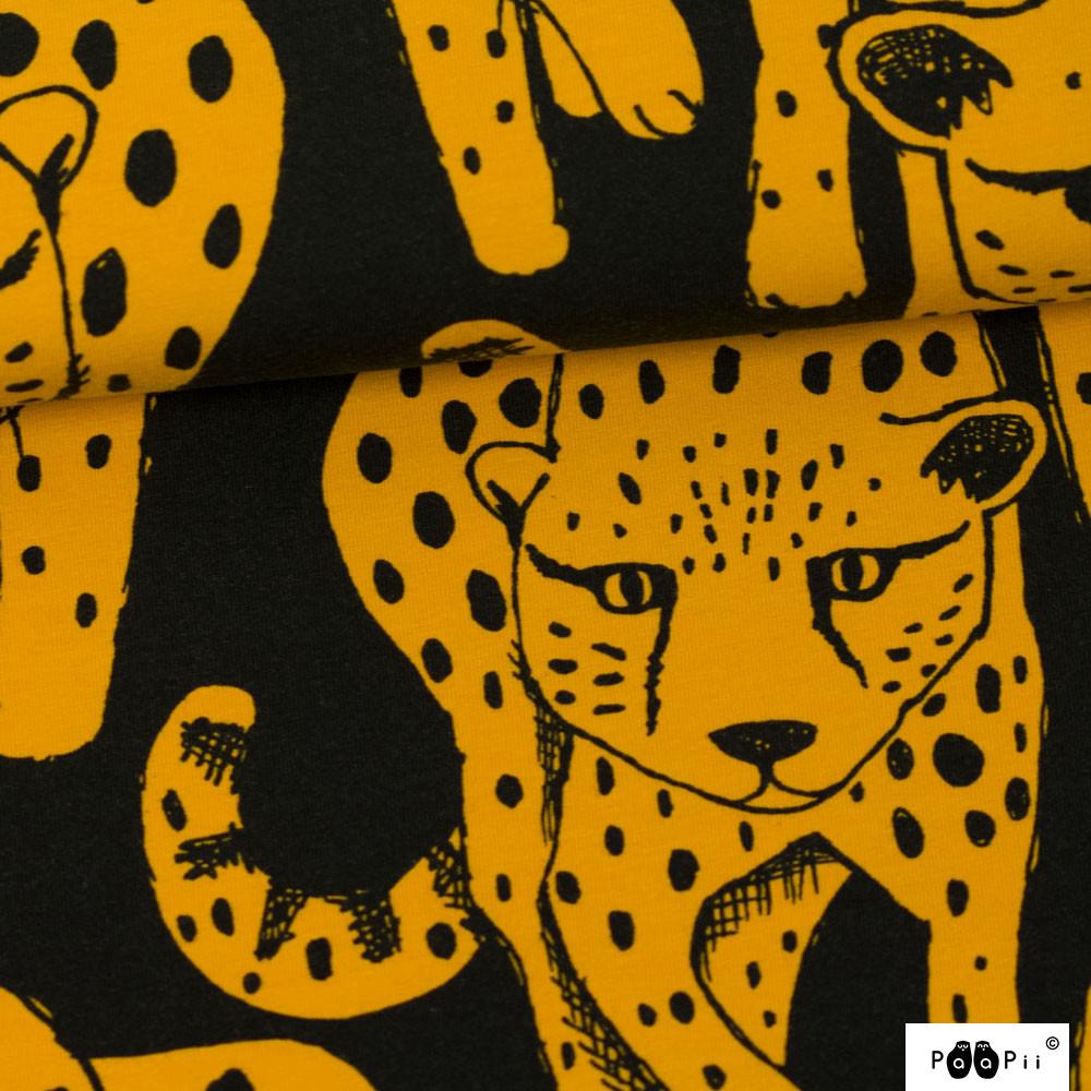 Gepardi joustocollege, okra - musta