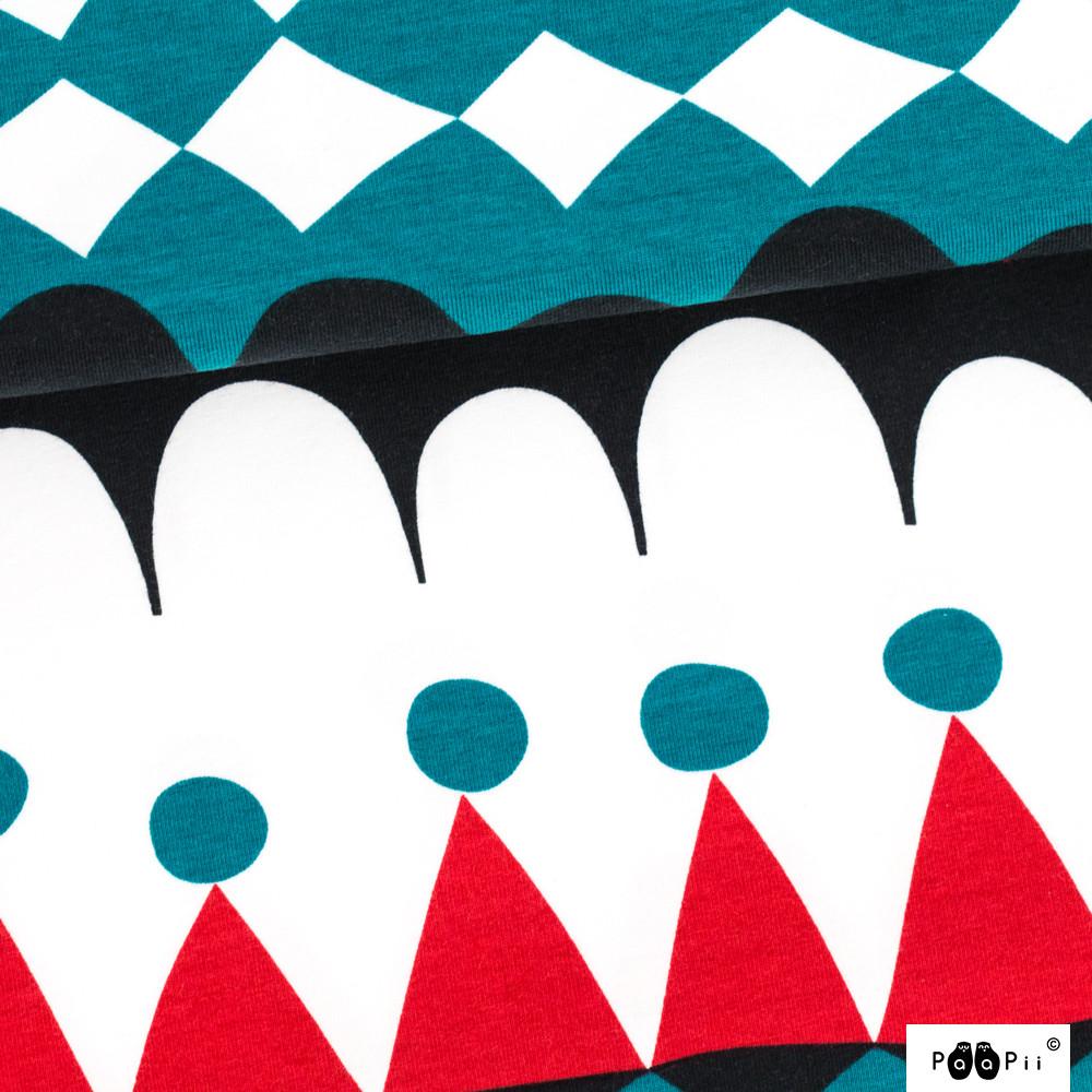 Jussi trikoo, punainen - petrooli