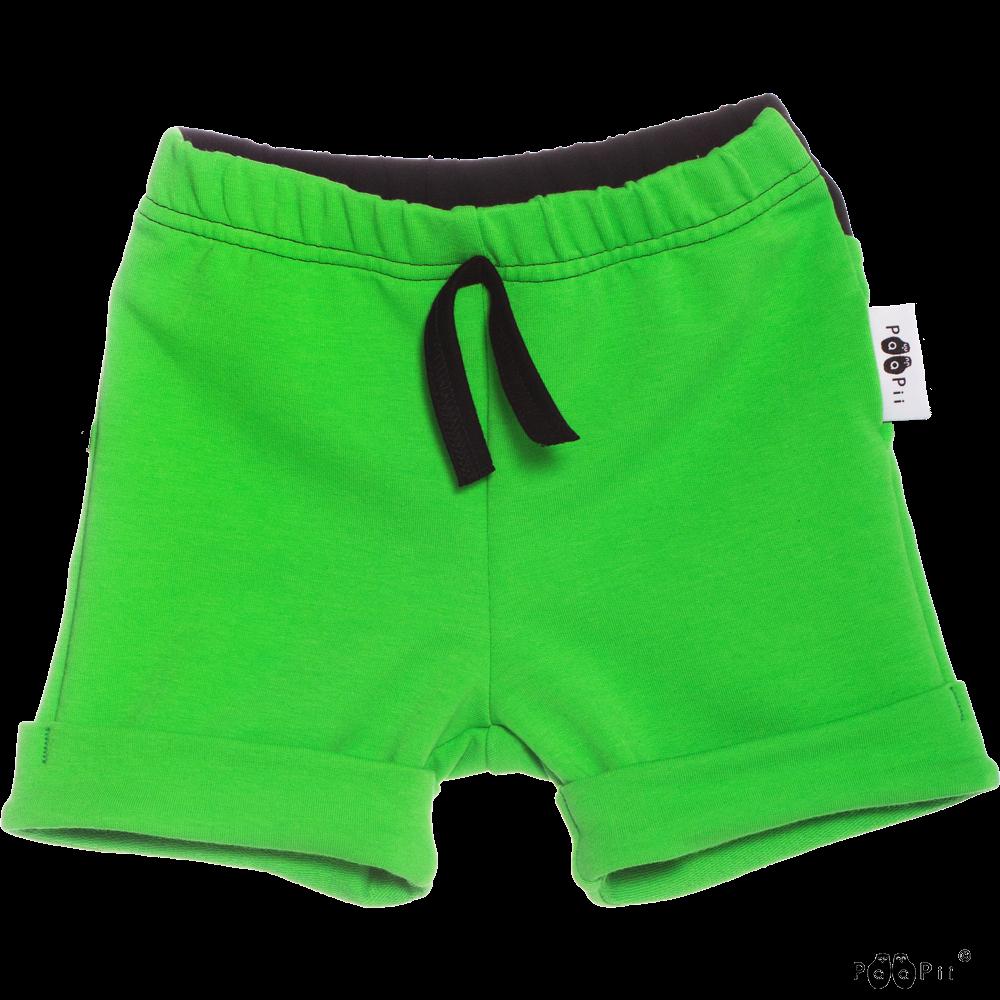 TUOMI shortsit, vihreä - musta