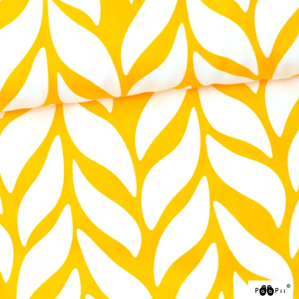 Palmikko puuvillasatiini, aurinko