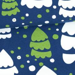Pine organic jersey, blueberry