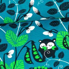 Herne trikoo, petrooli - vihreä
