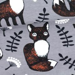 Nuutti trikoo, harmaa - ruoste