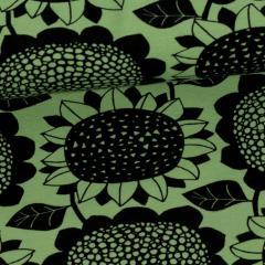 Sunflower organic sweatshirt knit, forest