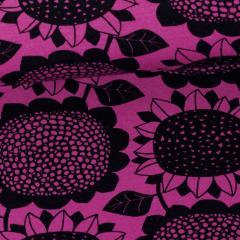 Sunflower organic sweatshirt knit, purple