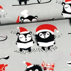 Siiri's & Myyry's Christmas cotton, grey