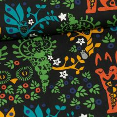 Mielikki folklore cotton, multicolor