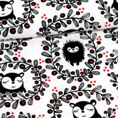 Siiri's & Myyry's Garland cotton, red
