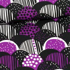 Mini Harvest cotton, purple