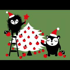 Postikortti, Siirin ja Myyryn joulukuusi
