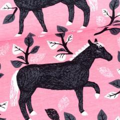 Runo joustocollege, vaaleanpunainen - tummanharmaa