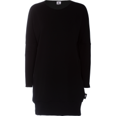 POLKU sweatshirt tunic, black