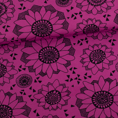 Lumme trikoo, violetti