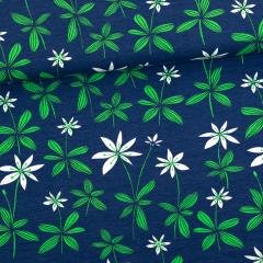 Metsätähti trikoo, mustikka - vihreä