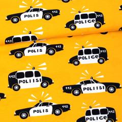 Poliisi trikoo, aurinko - musta