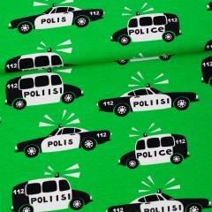 Poliisi trikoo, vihreä - musta